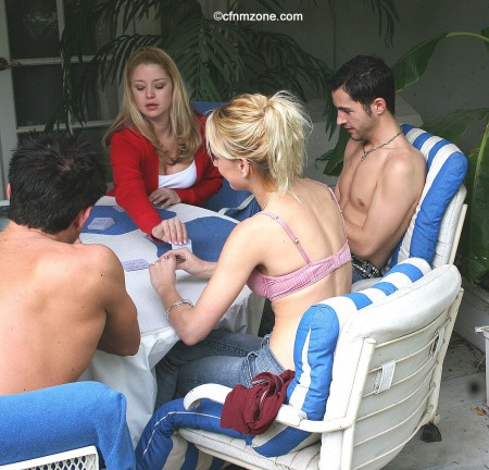 Naked strip poker stories